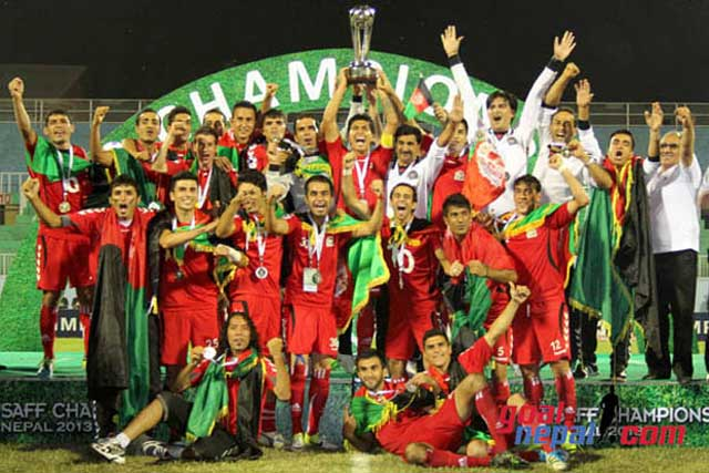 SAFF Champion 2013, Afghanistan football