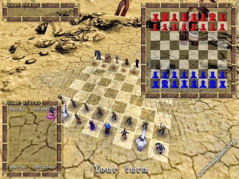 3D War Chess Game Free Download For PC