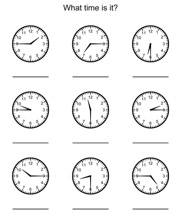 Telling Time Games For Grade 1 Download Free Software