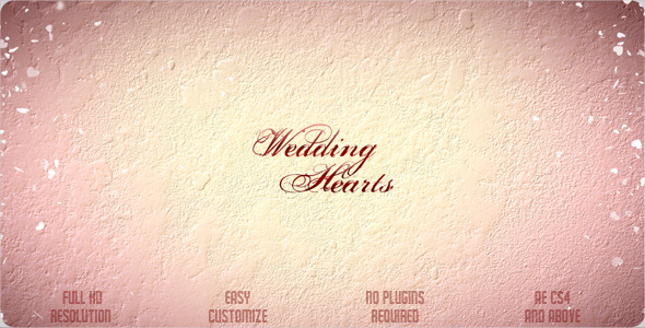 Wedding Hearts Slideshow VideoHive