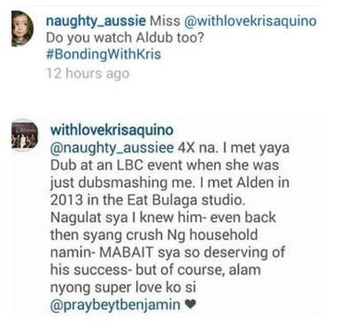 "Kris Aquino surprisingly asked who are ""ToMiho."""