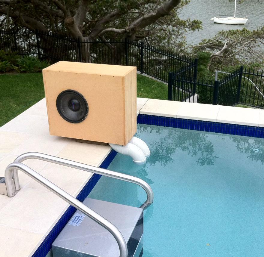 Notes On Building Underwater Speakers