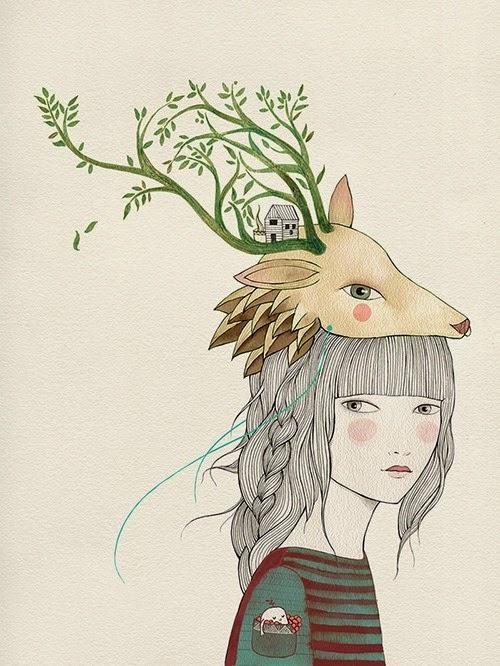 Ilustración Lady Desidia