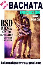 BACHATA INICIACIÓN EN SEPTIEMBRE 2016 EN BSD MÁLAGA CENTRO.