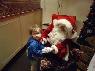 Big Boy and Santa