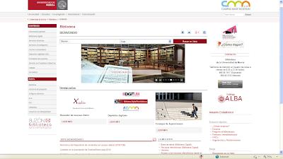 Enlace a Buzón Biblioteca...en la parte inferior izquierda de la pantalla principal.
