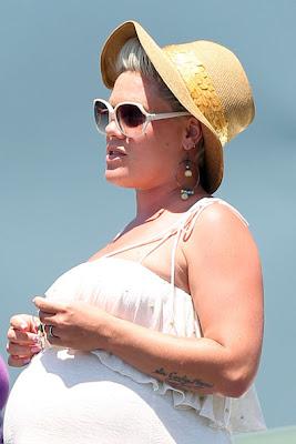 Carey Hart Pink Baby