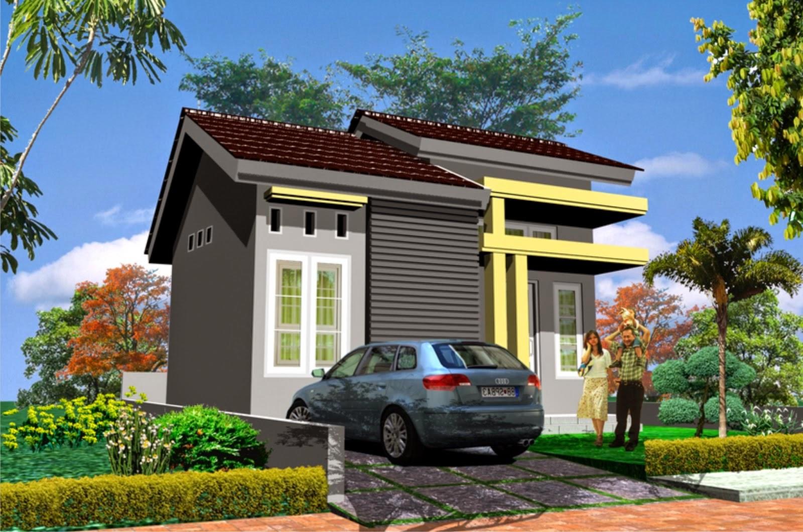 Inspirasi Rumah Minimalis Ciri Utama Fasad Desain Rumah