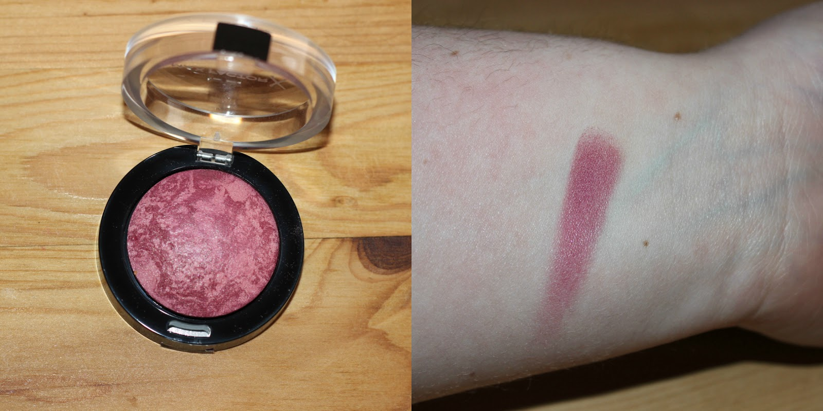 Maxfactor Creme Puff Blush In Gorgeous Berries Swatch