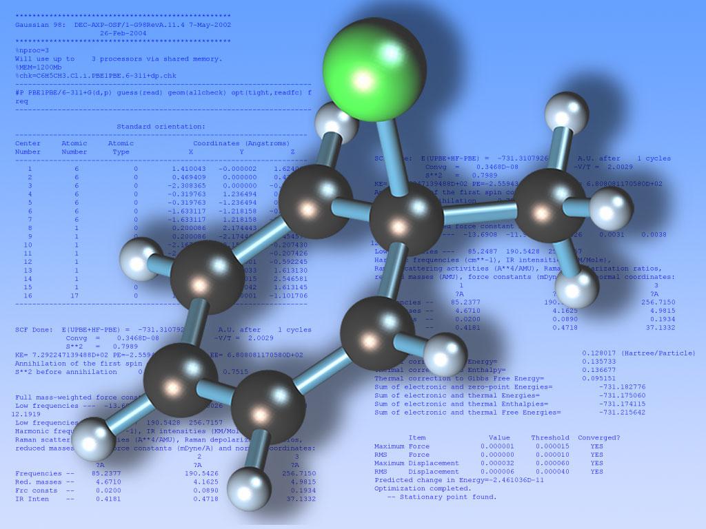 Organic Chemistry Wallpaper Desktop