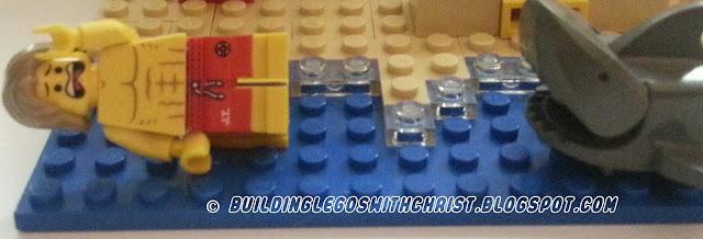 LEGO Summer Creation at the beach LEGO style