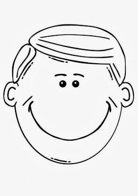 TE CUENTO UN CUENTO Dibujos de caras para completar o colorear
