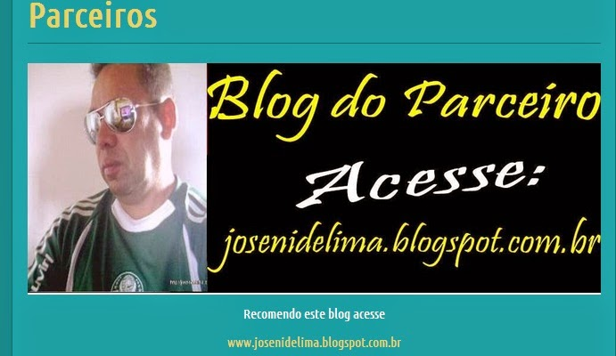 O BLOG DO PARCEIRO está no ÚLTIMA HORA ARACOIABA NEWS