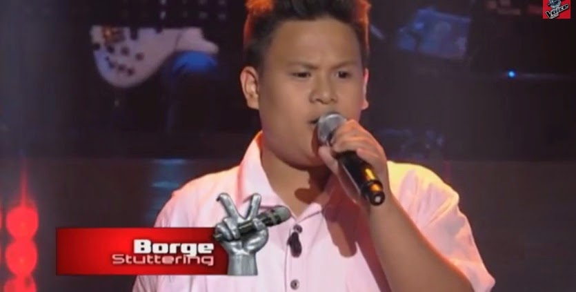 "Borge Rivera sings ""Stuttering"" on 'The Voice Kids' Philippines"