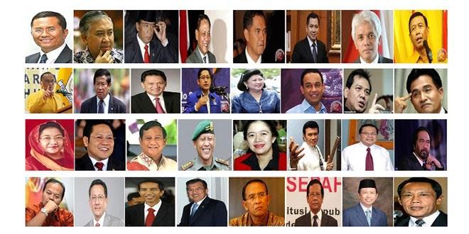 Daftar Capres 2014 Terkuat Calon Presiden Indonesia Periode 2014-2019
