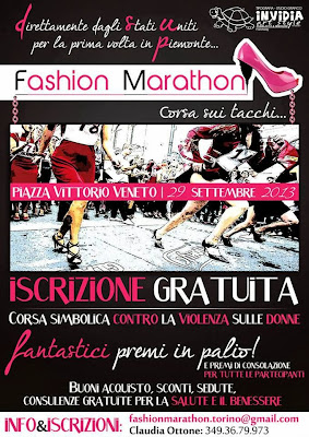 Locandina Fashion Marathon Torino