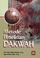 toko buku rahma: buku metode penelitian dakwah, pengarang drs. asep saeful muhtadi, m.ag, penerbit pustaka setia