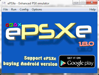 Download emulator ePSXe 1.8.0 + BIOS