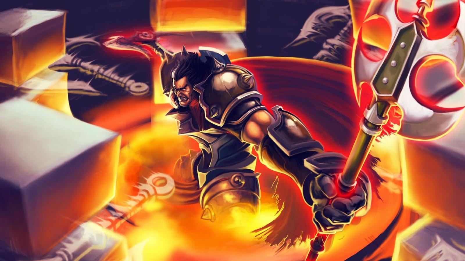 Tải hình ảnh Darius LOL làm ảnh nền ảnh bìa full HD