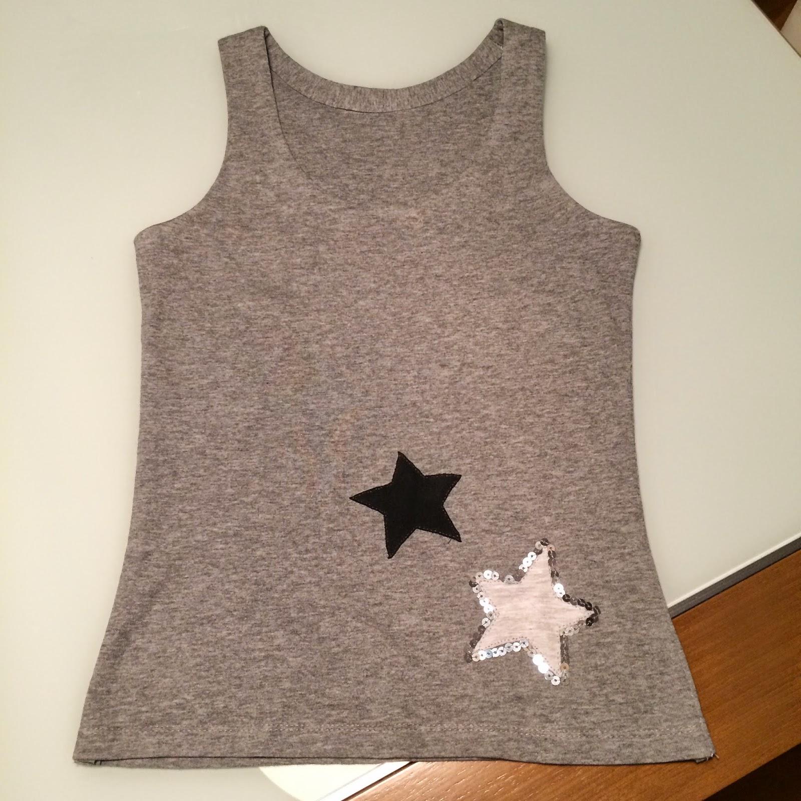 Sucre i botons diy de una camiseta de hombre a una de - Tabla doblar camisetas ...