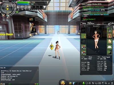 GhostX Ultimate - Character Equip Window