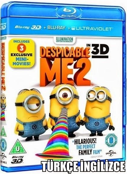 Despicable Me 2 - Çılgın Hırsız 2 2013 Bluray 1080p TR/ENG İndir