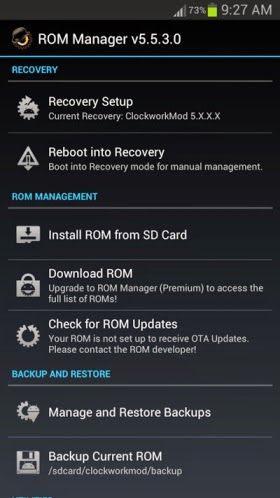 recover android