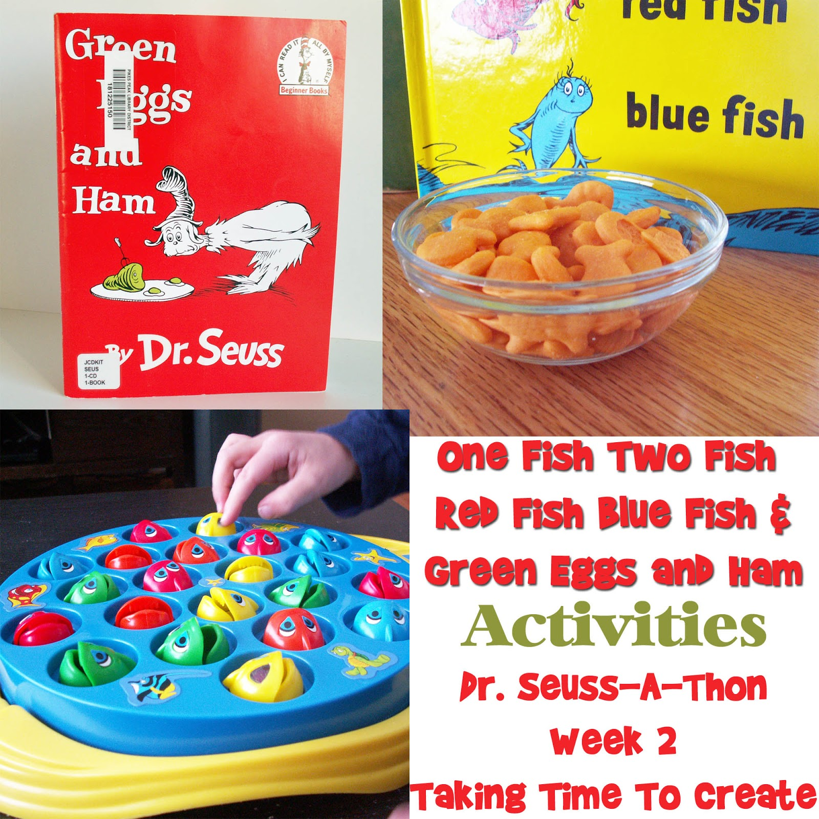 Taking Time To Create: Dr. Seuss-A-Thon Week 2 {\