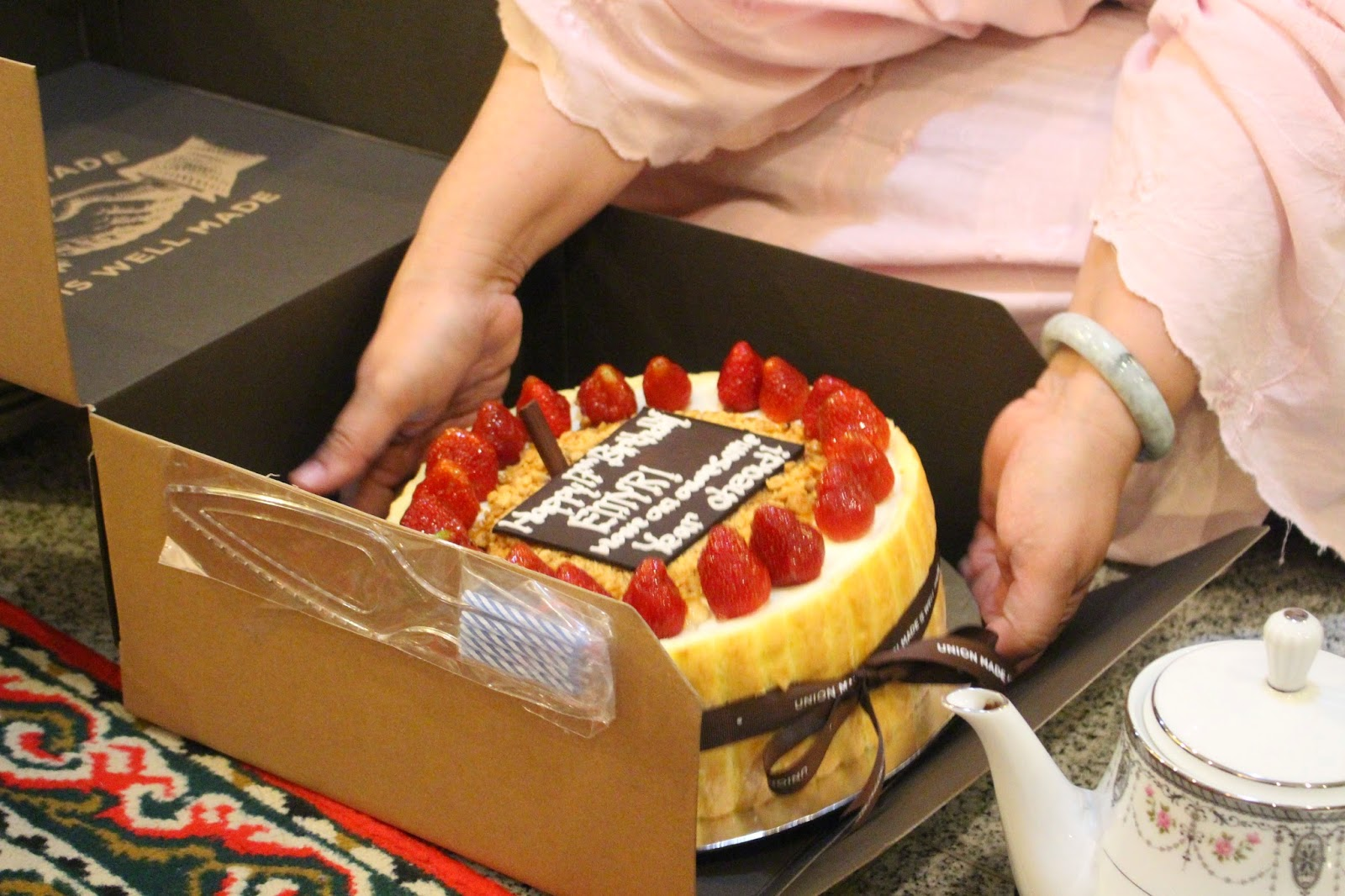 Journal De La Journe A Birthday Cake From Union At Pondok Indah