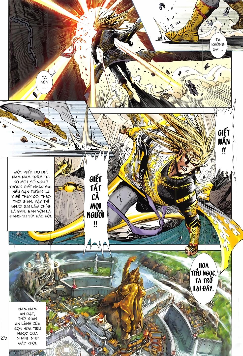 Thần Chưởng chap 24 – End Trang 25 - Mangak.info