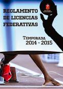 Reglamento de Licencias 2014/15
