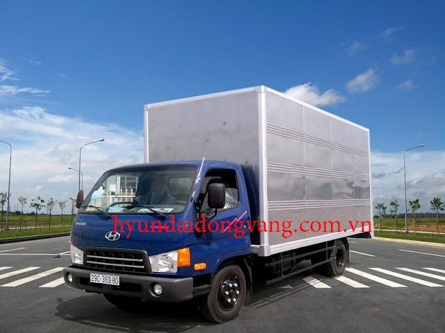 xe tải hyundai hd65 thùng kín
