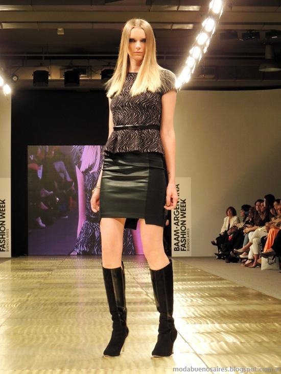 mini faldas Markova invierno 2014 moda
