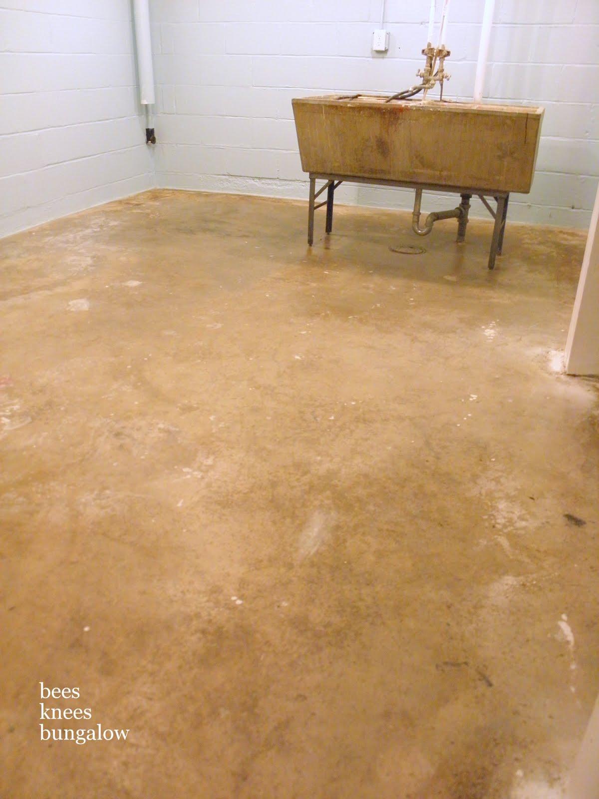 Concrete Basement Floor Paint Colors