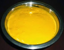 blend the ingredients to a smooth paste