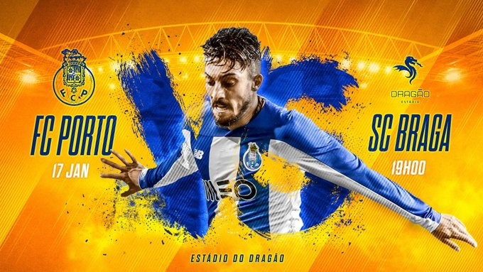 17 de janeiro, 19h: Porto