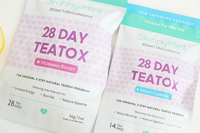 SkinnyMint Teatox Review
