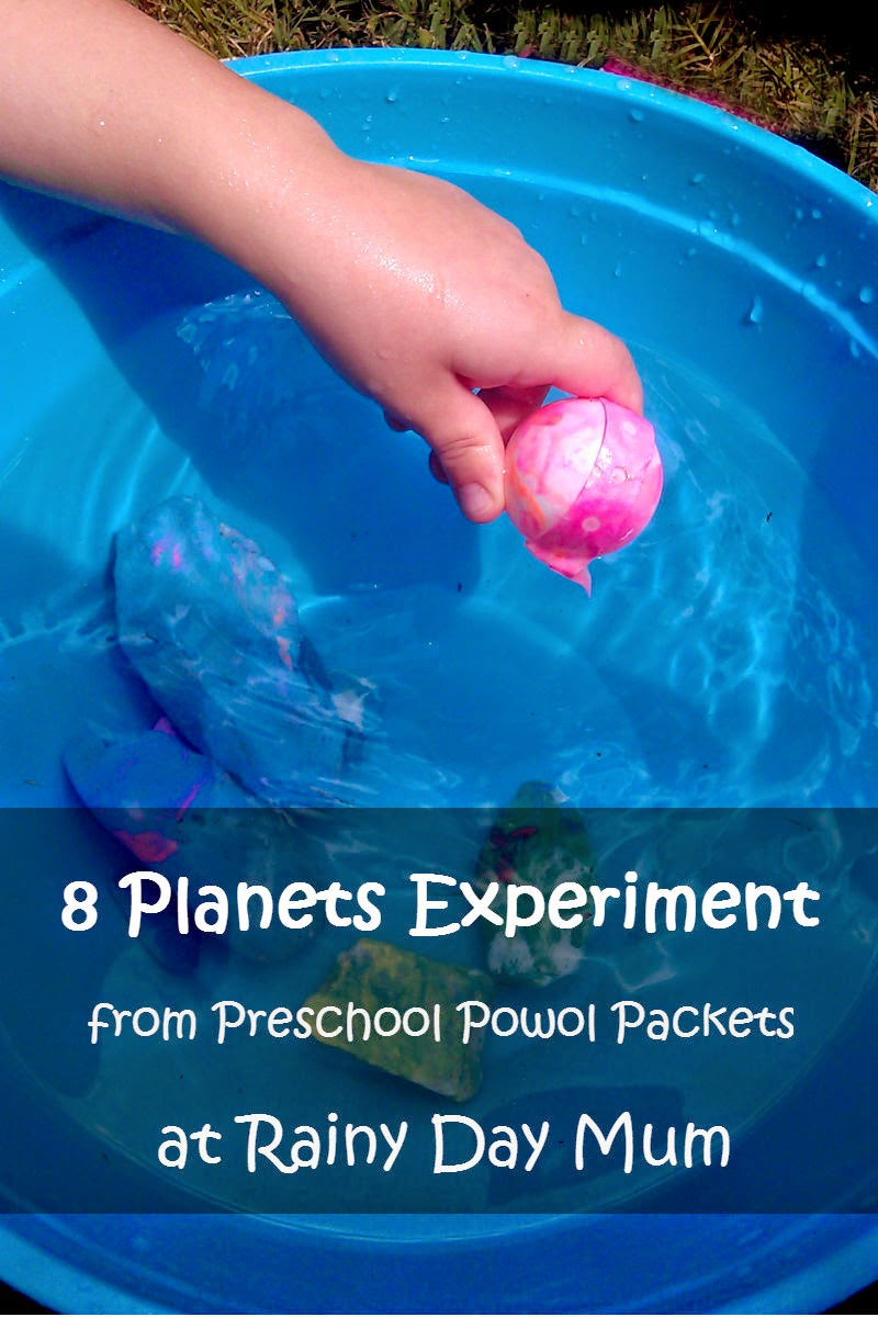 8 planets density experiment