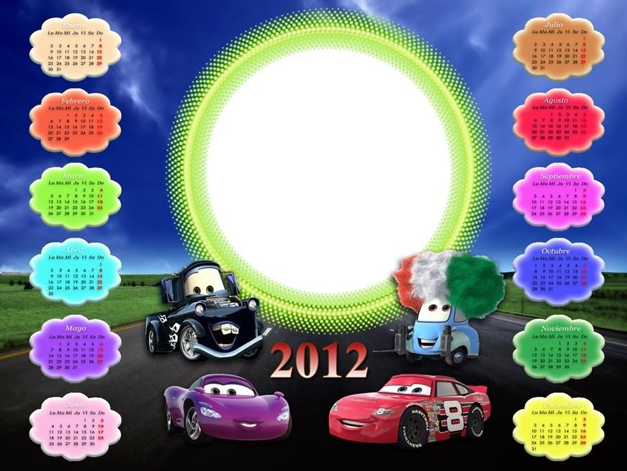 calendario 2012 cars