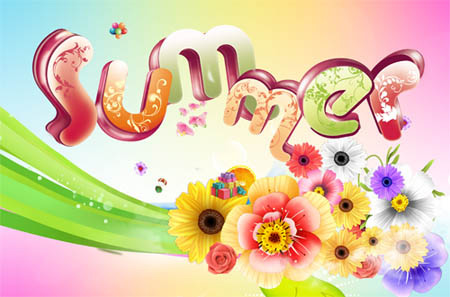 PSD - Vivid Summer Template