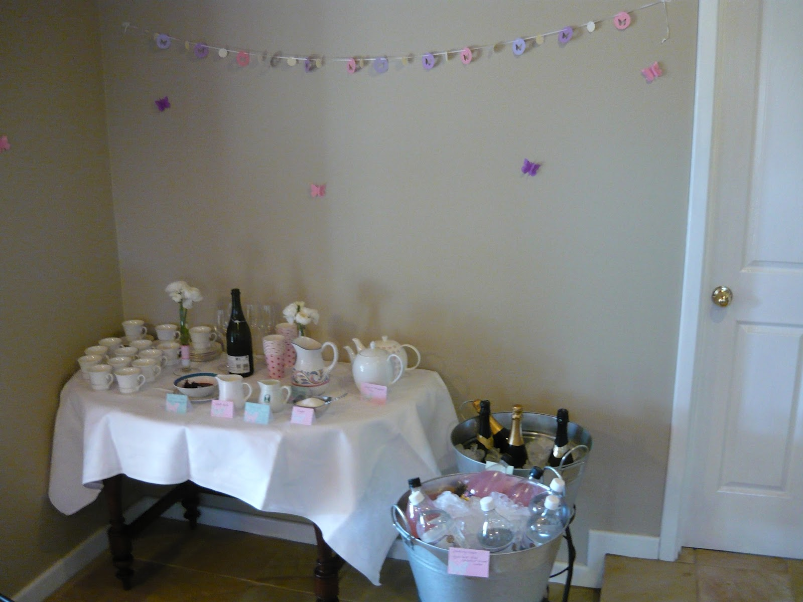 we can have everything butterfly themed baby shower