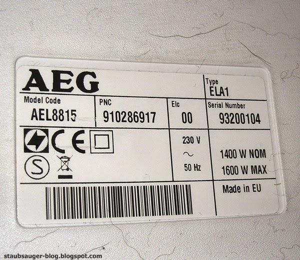 AEG AEL8815