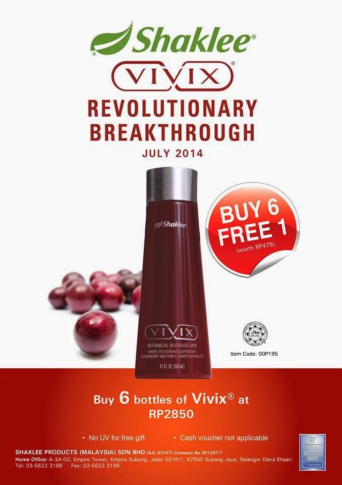 Promo July 2014 - VIVIX!!