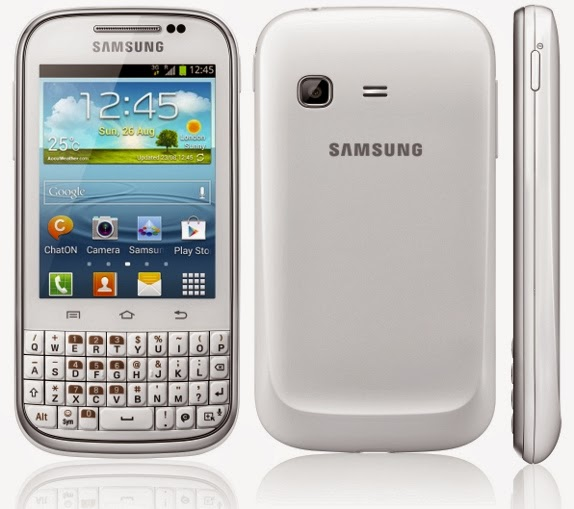 Harga dan Spesifikasi Samsung Galaxy Chat B5330