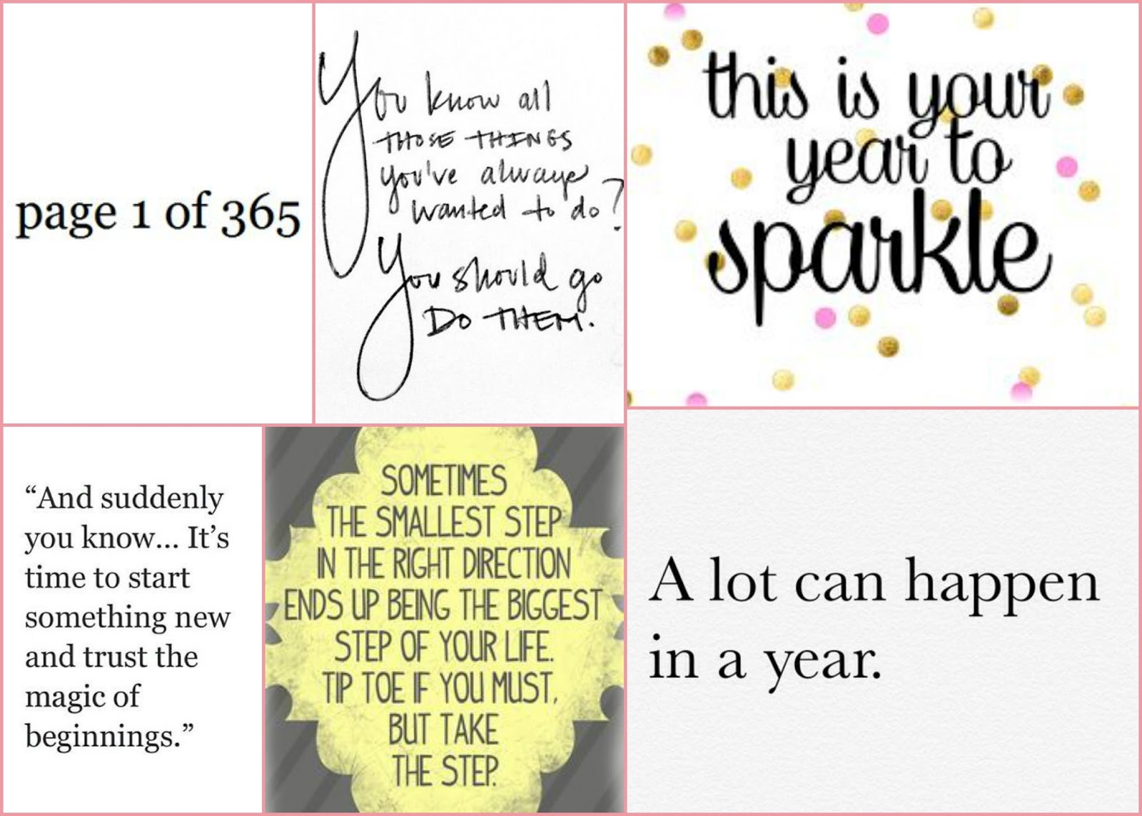 new year inspiration quotes