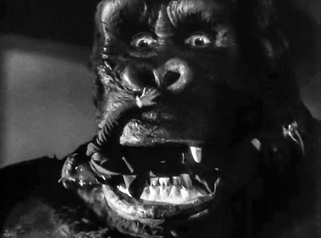 screenshot from 1933 king kong of eating man