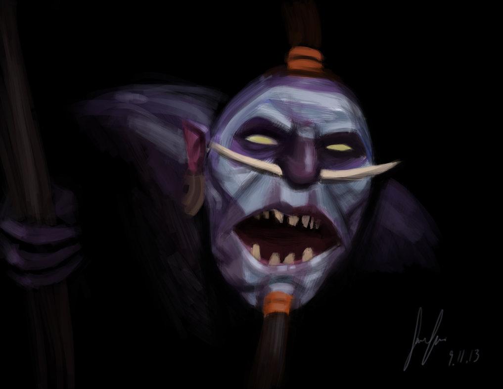Dota 2 Wallpapers: Dota2 Fan-Art - Witch Doctor (by FlawedArt)