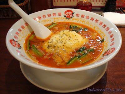 Taiyou no Tomato's cheese ramen