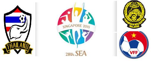 Bolasepak Sukan SEA 2015 Singapura