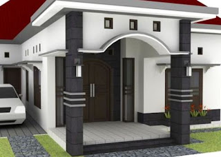 Contoh Desain Teras Rumah Klasik 2015 Terbaru